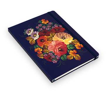 Hardcover diary